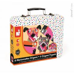 """J07759 Набор для творчества: оригами. """"Животные"""", 6 карточек, фото , изображение 3"""