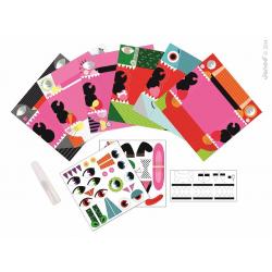 """J07759 Набор для творчества: оригами. """"Животные"""", 6 карточек, фото , изображение 4"""