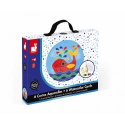 """J07763 Набор для творчества: рисуем водой. """"Подводное царство"""", 6 карточек, фото , изображение 2"""