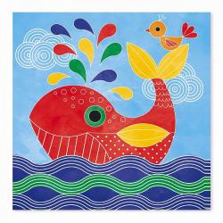 """J07763 Набор для творчества: рисуем водой. """"Подводное царство"""", 6 карточек, фото , изображение 6"""