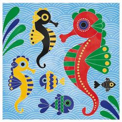 """J07763 Набор для творчества: рисуем водой. """"Подводное царство"""", 6 карточек, фото , изображение 7"""