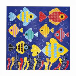 """J07763 Набор для творчества: рисуем водой. """"Подводное царство"""", 6 карточек, фото , изображение 8"""