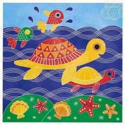 """J07763 Набор для творчества: рисуем водой. """"Подводное царство"""", 6 карточек, фото , изображение 9"""