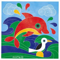 """J07763 Набор для творчества: рисуем водой. """"Подводное царство"""", 6 карточек, фото , изображение 11"""