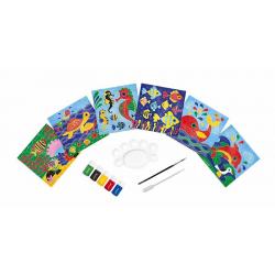 """J07763 Набор для творчества: рисуем водой. """"Подводное царство"""", 6 карточек, фото"""