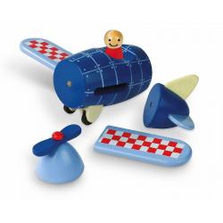 Магнитный конструктор Janod «Самолет» , фото , изображение 4