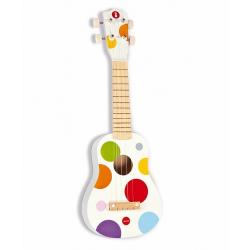 J07597 Гавайская гитара (дерево), белая, фото