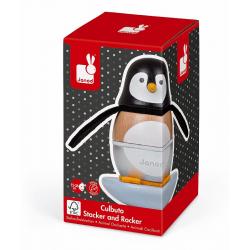 "J08127 Игрушка - пирамидка ""Пингвинчик"", фото , изображение 2"