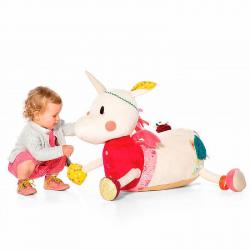 Игрушка для сидения развивающая Lilliputiens «Единорожка Луиза»; большая, фото