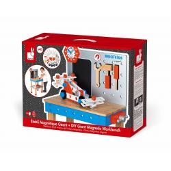 """Верстак детский """"Brico'Kids"""" с магнитными инструментами: 40 аксессуаров, фото , изображение 3"""
