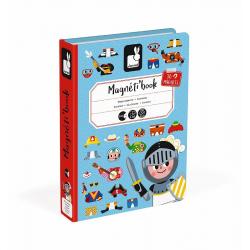 Книга-игра Janod «Мальчики в костюмах» магнитная , фото , изображение 2