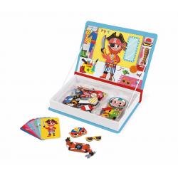 Книга-игра Janod «Мальчики в костюмах» магнитная , фото