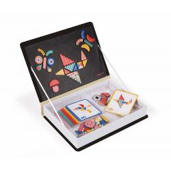 Книга-игра Janod «Мозаика в геометрии» магнитная, фото , изображение 4