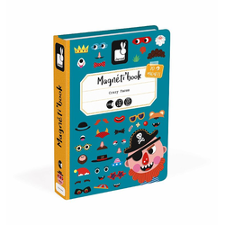 Книга-игра Janod «Смешные мальчишки» магнитная, фото , изображение 2