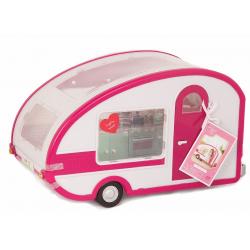 Автофургон жилой для куклы c мебелью и аксессуарами, фото , изображение 2