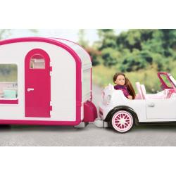 Автофургон жилой для куклы c мебелью и аксессуарами, фото , изображение 3