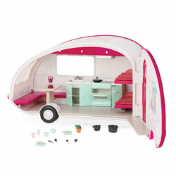 Автофургон жилой для куклы c мебелью и аксессуарами, фото , изображение 5