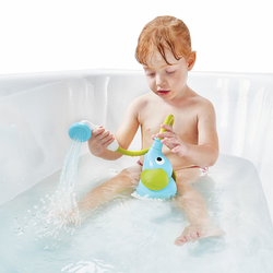 """Игрушка водная душ """"Слоненок""""; голубой, фото , изображение 4"""