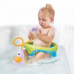 """Игрушка водная душ """"Слоненок""""; фиолетовый, фото"""