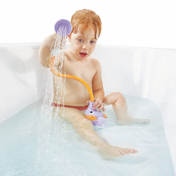 """Игрушка водная душ """"Слоненок""""; фиолетовый, фото , изображение 2"""