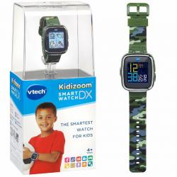 VTECH Детские наручные часы Kidizoom SmartWatch DX  камуфляжного цвета, фото , изображение 3