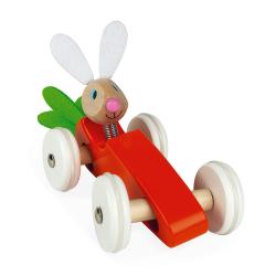 """Каталка-машинка для малышей """"Кролик"""", фото , изображение 4"""