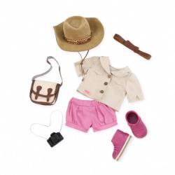 Комплект одежды ДеЛюкс в стиле сафари, фото