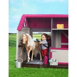 Конюшня для лошадей и жеребят с аксессуарами, фото , изображение 2