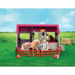 Конюшня для лошадей и жеребят с аксессуарами, фото , изображение 3