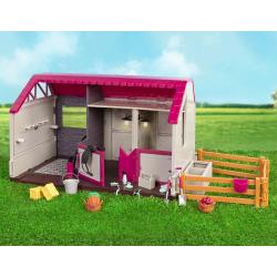 Конюшня для лошадей и жеребят с аксессуарами, фото , изображение 4