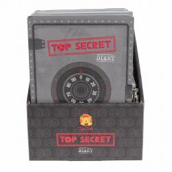 """Личный дневник с замочком """"Совершенно секретно"""", фото , изображение 4"""
