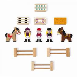 """Набор деревянных фигурок """"Маленькие истории. Школа верховой езды"""", фото , изображение 4"""
