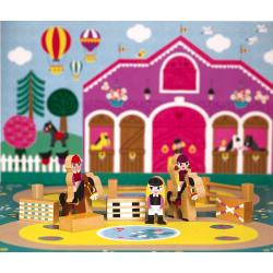 """Набор деревянных фигурок """"Маленькие истории. Школа верховой езды"""", фото , изображение 5"""
