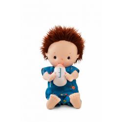 Кукла Lilliputiens «Ноа» мягкая с бутылочкой , фото , изображение 2
