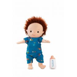 Кукла Lilliputiens «Ноа» мягкая с бутылочкой , фото , изображение 3