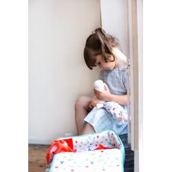 """Кукла мягкая """"Алекс"""" в переноске с игрушкой, фото , изображение 5"""