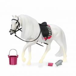 Лошадь породы «Камарилло» Lori с аксессуарами, фото