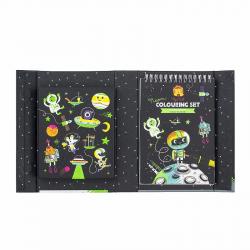 """Набор для создания неоновых рисунков """"Космические приключения"""", фото , изображение 2"""