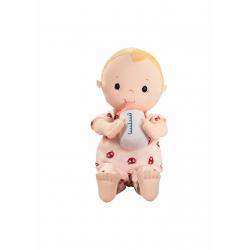 """Кукла """"Лу"""" мягкая с бутылочкой, фото , изображение 4"""