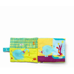 """Книжка мягкая """"Слоненок Альберт в Зоопарке"""", фото , изображение 3"""