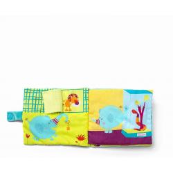 """Книжка мягкая """"Слоненок Альберт в Зоопарке"""", фото , изображение 4"""