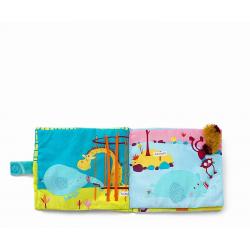 """Книжка мягкая """"Слоненок Альберт в Зоопарке"""", фото , изображение 5"""