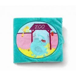 """Книжка мягкая """"Слоненок Альберт в Зоопарке"""", фото"""