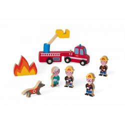 """Набор деревянных фигурок """"Маленькие истории. Пожарные"""", фото"""