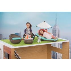 """Набор игровой """"Патио на крыше"""" с мебелью и аксессуарами, фото"""