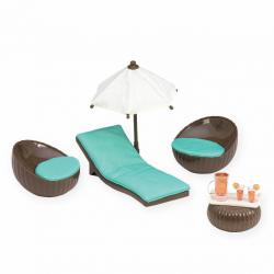"""Набор игровой """"Патио на крыше"""" с мебелью и аксессуарами, фото , изображение 3"""