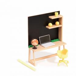 """Набор игровой """"Рабочий уголок дома"""" с мебелью и аксессуарами, фото"""