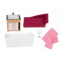 """Набор игровой """"Роскошная ванная"""" с мебелью и аксессуарами, фото , изображение 3"""