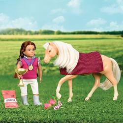 Игровой набор Lori для ухода за лошадью, фото