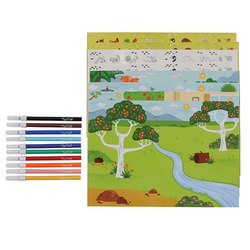 "Набор для творчества с наклейками ""Царство животных"", фото , изображение 3"
